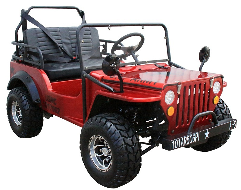 Coolster Mini Jeep 6125A Gas Golf Cart